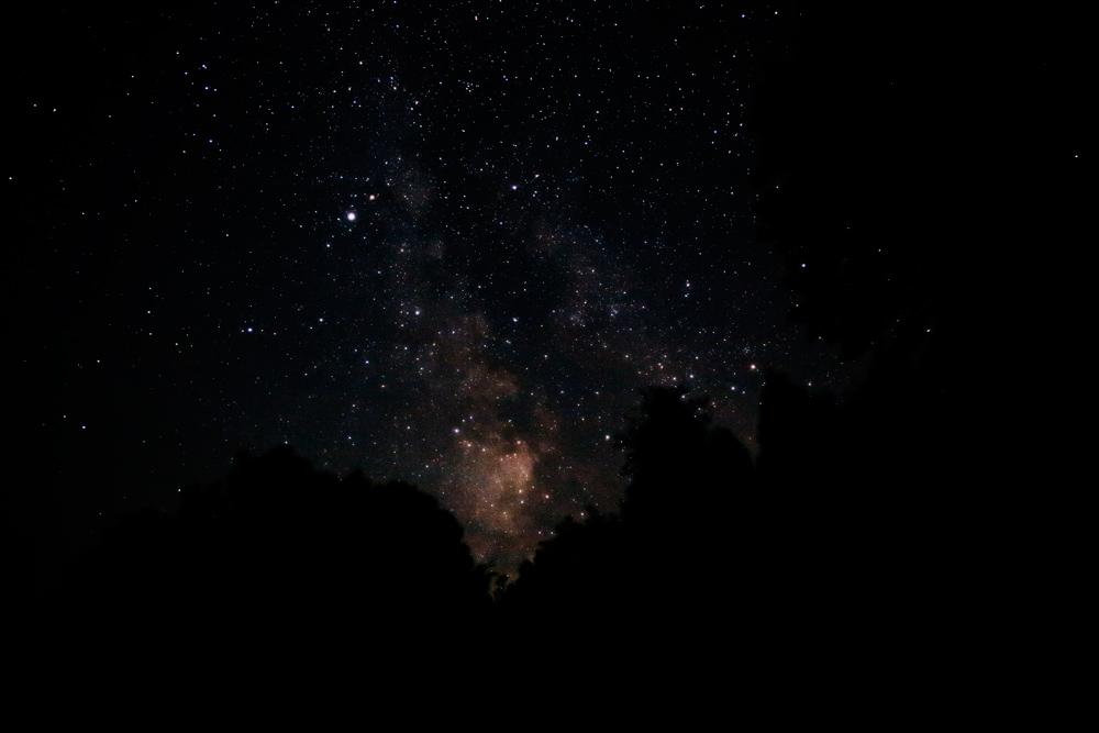 星峠の天の川