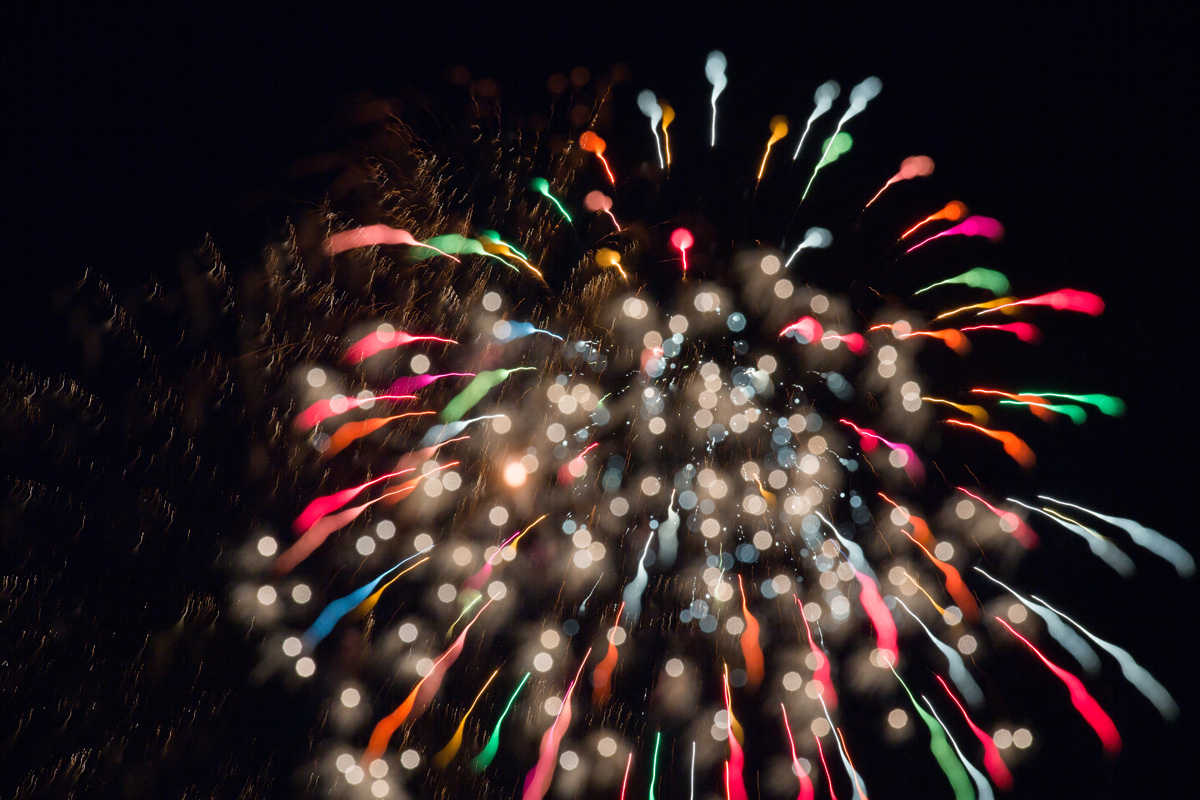 大沢野の花火