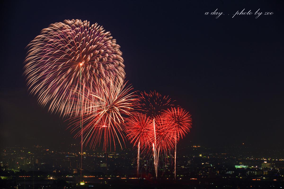 富山の花火