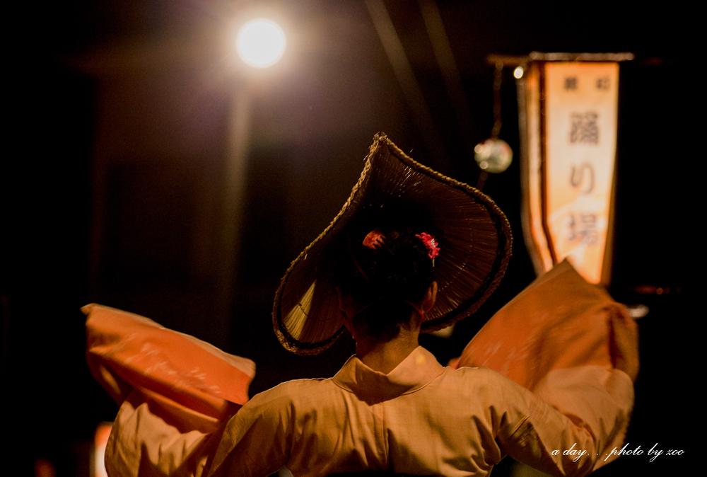 おわら風の盆前夜祭 鏡町 2013年